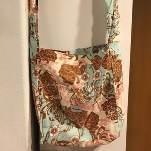 Bebe Au Lait Slouch/Crossbody Style Diaper Bag